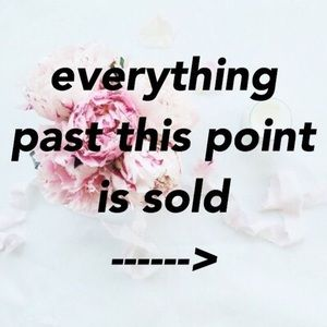 Jewelry - Everything past this post is SOLD! Thank you 😊